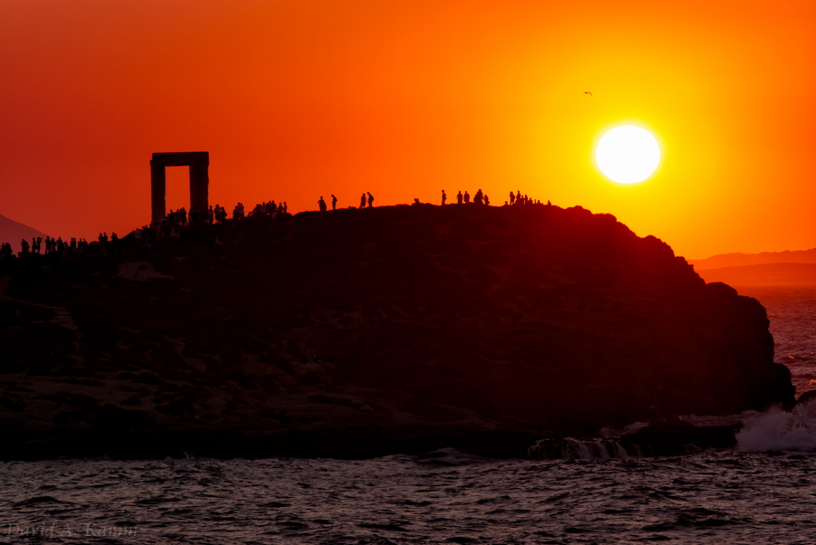Naxos Sunset - Gate of Apollo