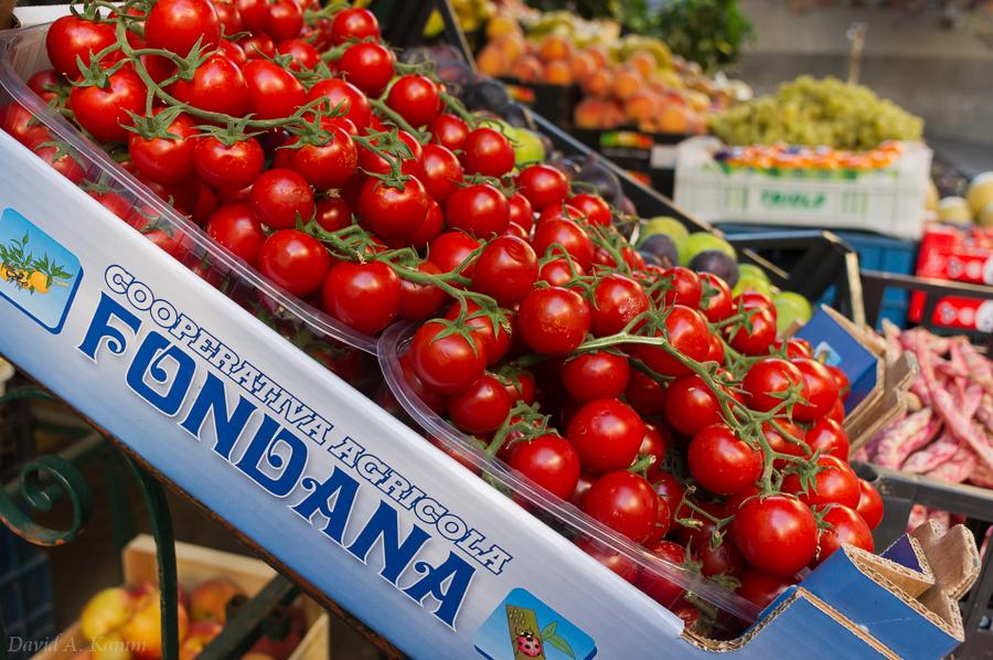 Market Produce in Riomaggiore - Cinque Terre, Italy