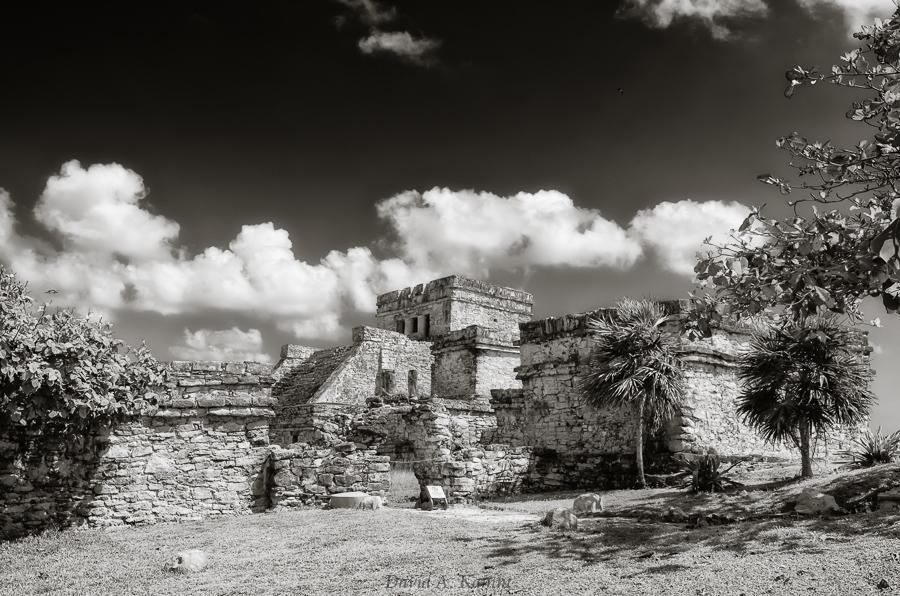 Mayan Ruin 'El Castillo' in Tulum, Mexico
