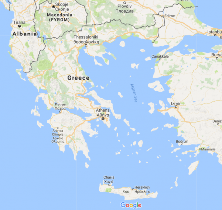 Greece Travel Photography - Google Maps