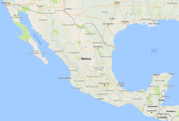 Mexico Travel Photography - Google Maps
